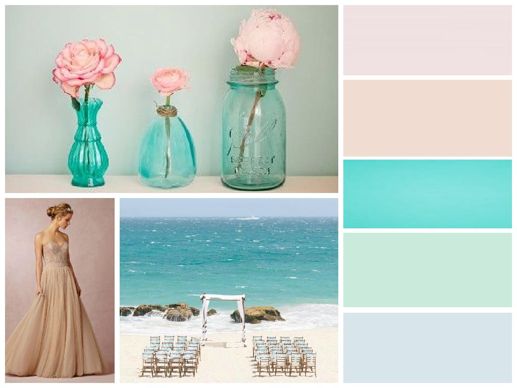 Ocean Wedding Colours
