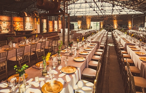 brick works wedding
