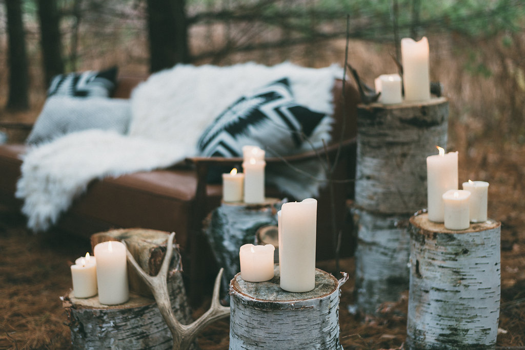 antler wedding