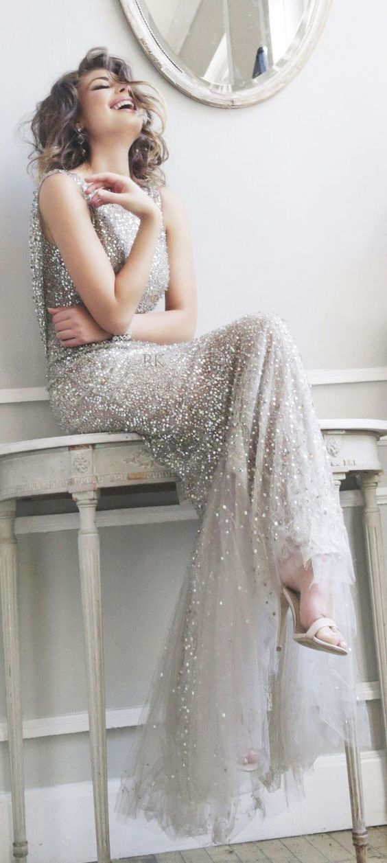 Silver Lining Non White Wedding Dresses