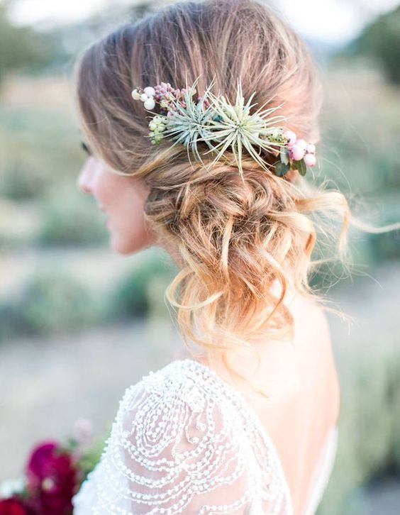 air plant wedding ideas