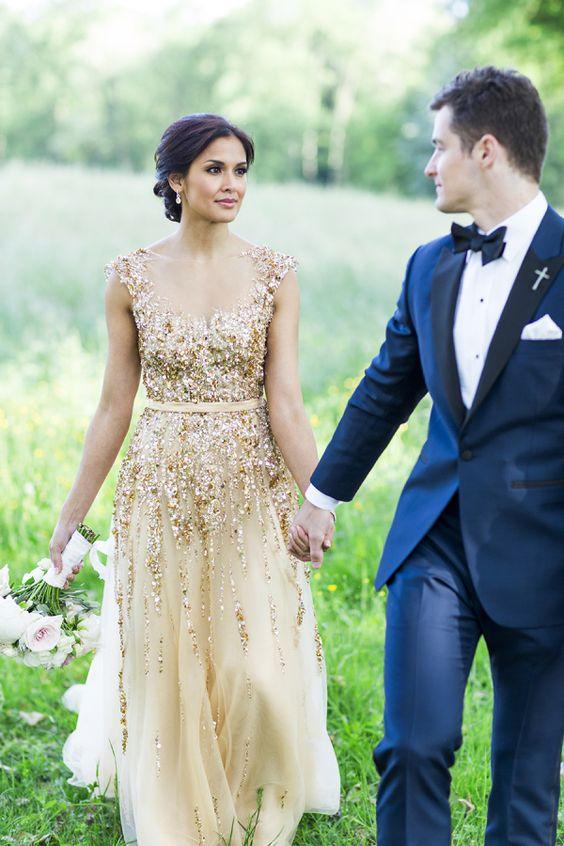Non White Wedding Gowns