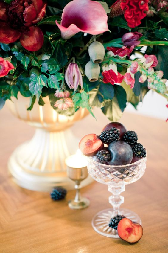 fruit centrepieces