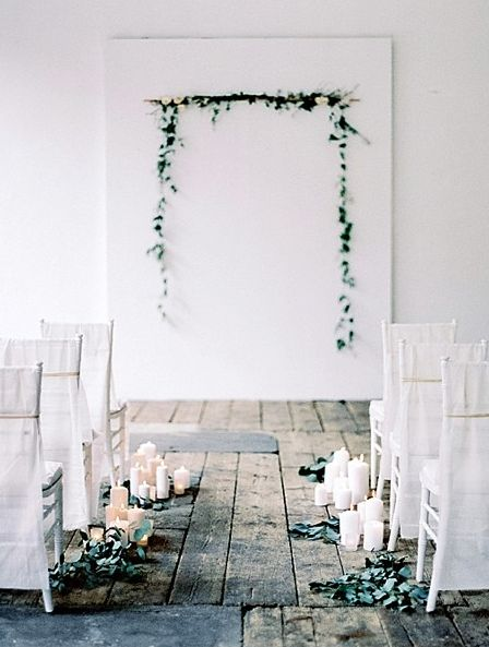 minimalist wedding