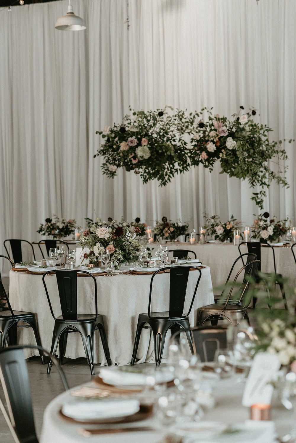 CHANTAL + GAETAN INDUSTRIAL CHIC WEDDING