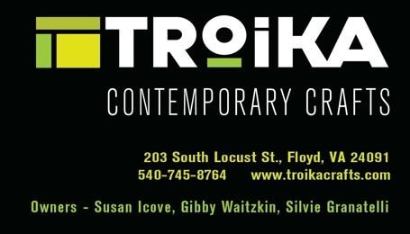 Troika Gallery - Floyd, VA
