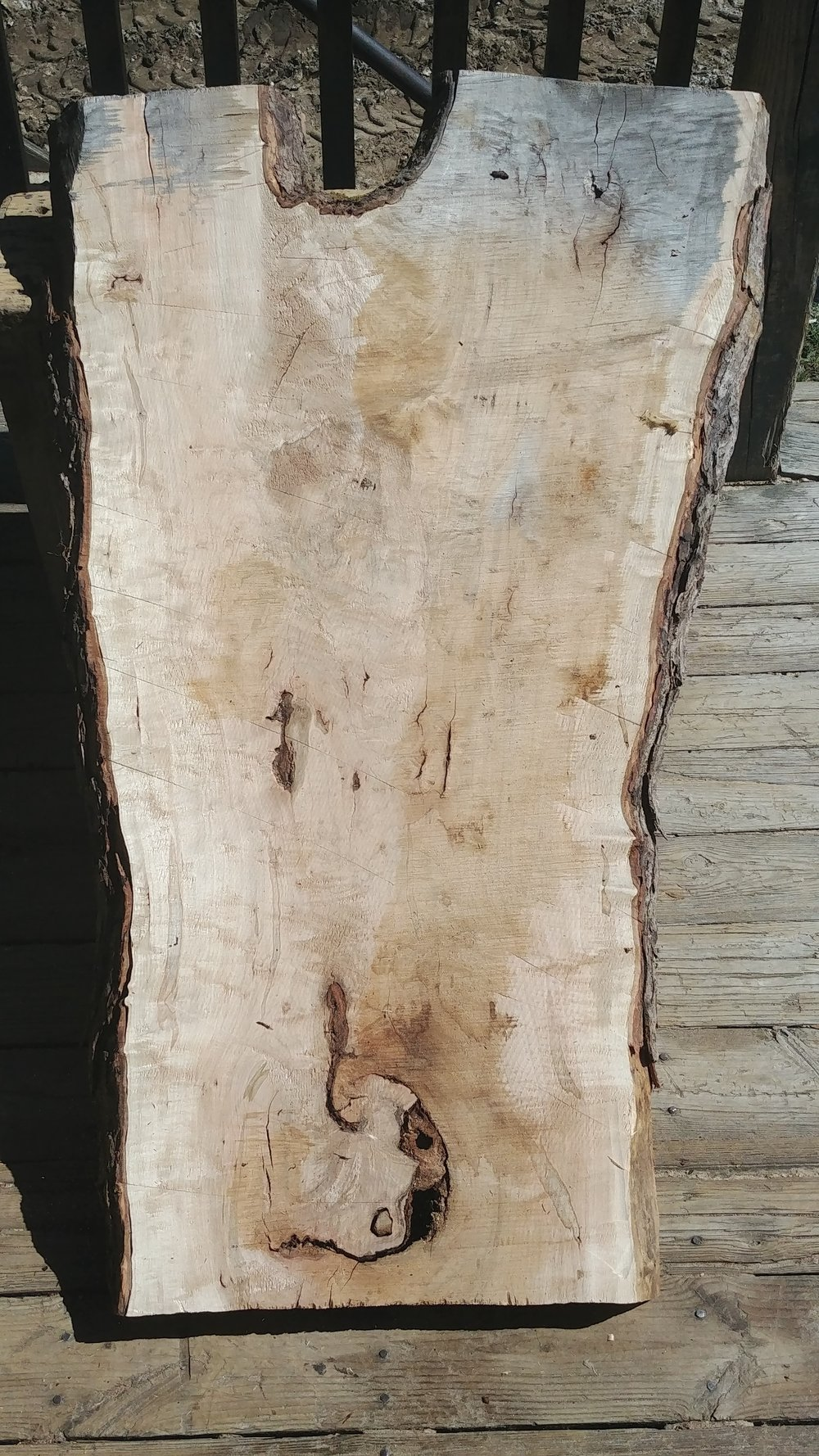 $550 - Hard maple crotch20-30 inches wide4 feet long8/4