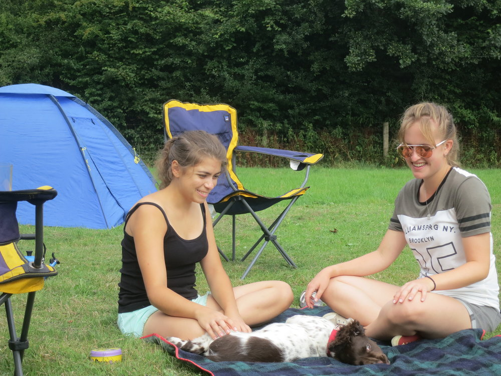 Campsite - We are a certificated Camping and Caravanning Club site; open to tents, trailer tents, caravans and motorhomes. Booking is advisable especially in the summer months.
