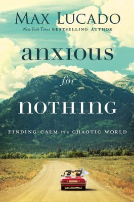 "In  Anxious for Nothing , Max Lucado leads readers to reflect on the promises of Philippians 4:4-8. This passage from Paul's epistle contains an antidote to anxiety that will help you develop a mindset of resilience. Rediscover the power of prayer and take control of your thoughts. You can rest in ""the peace of God, which surpasses all understanding."" Hardcover. Click here to buy!"