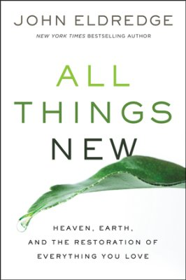 We've heard the promise of the New Earth in Scripture, but what does that really look like? Most of our ideas about eternity come from popular culture rather than the Word of God. In  All Things New , John Eldredge aims to show us how much more amazing, fulfilling and rich our eternal home and our lives will be. Far from a continual worship service, or a peaceful boredom, heaven will be a renewal of all that is, in a paradise free from pain and loss, bathed in the continual presence of God. Click here to purchase!