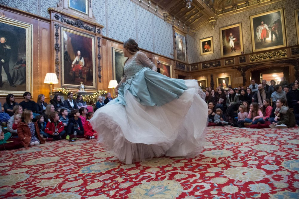 Cinderella - The Waterloo Chamber, Windsor Castle