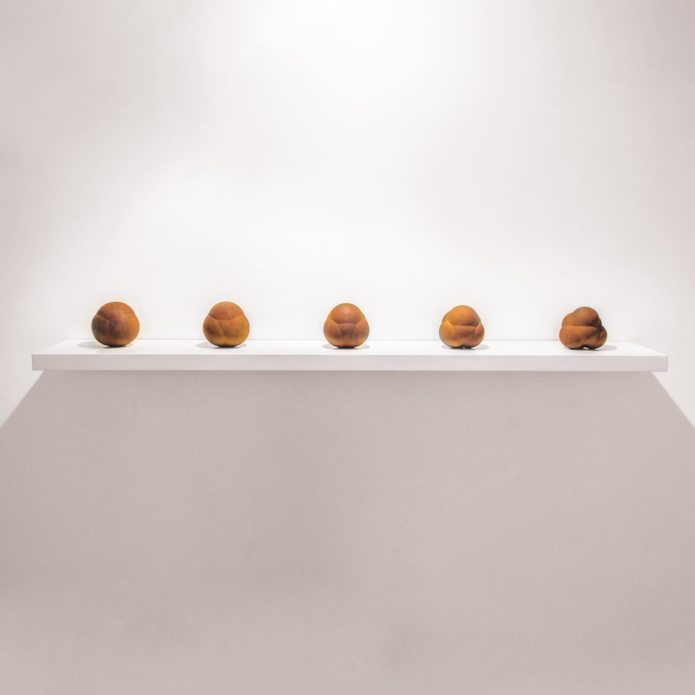 Peter Randall-Page 'Geometry of Desire Maquettes I – V'