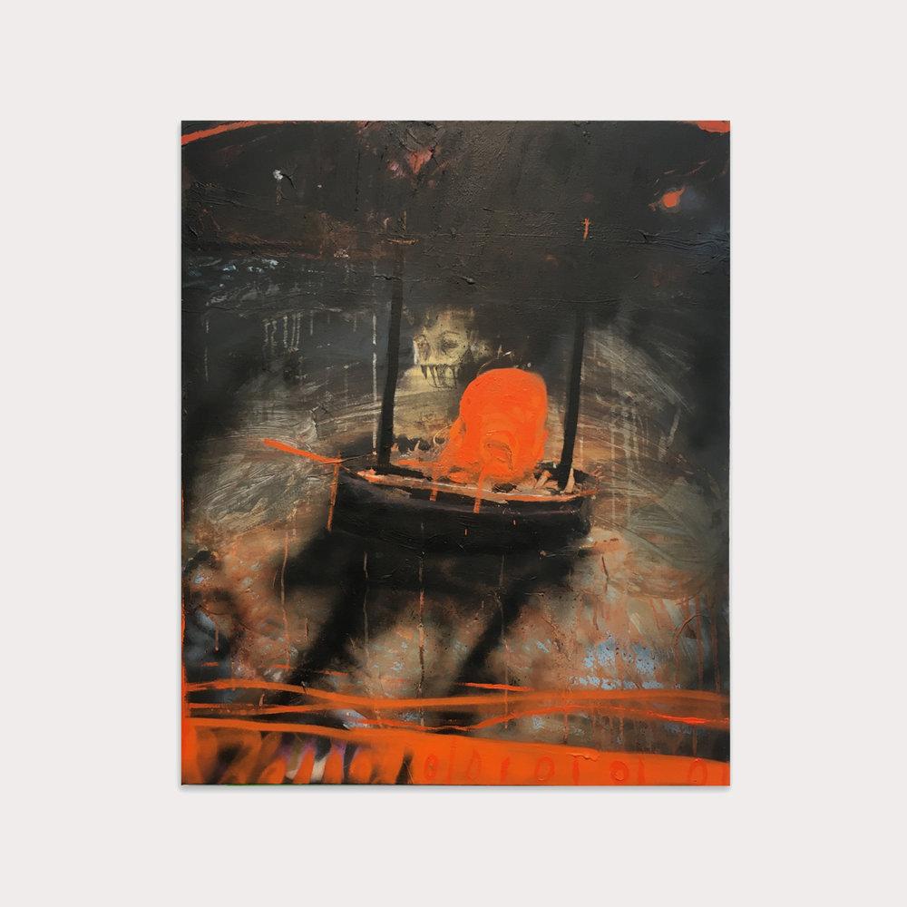 Samuel Bassett 'Burning Boat'