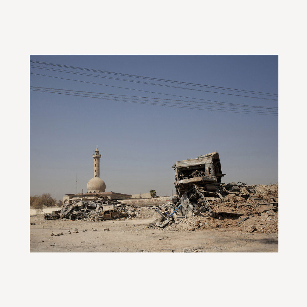 West Mosul. August 2017