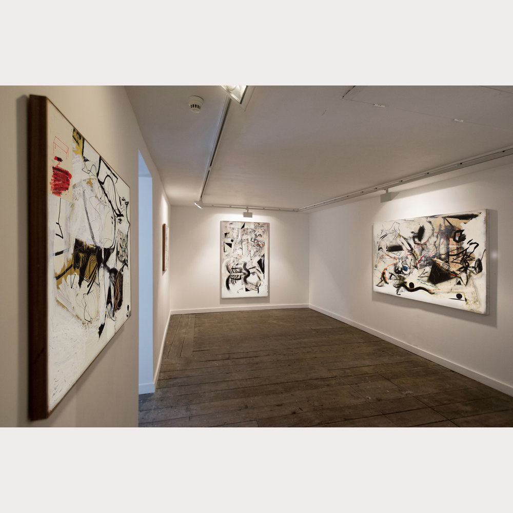 Arthur Lanyon 'White Chalk Lines'