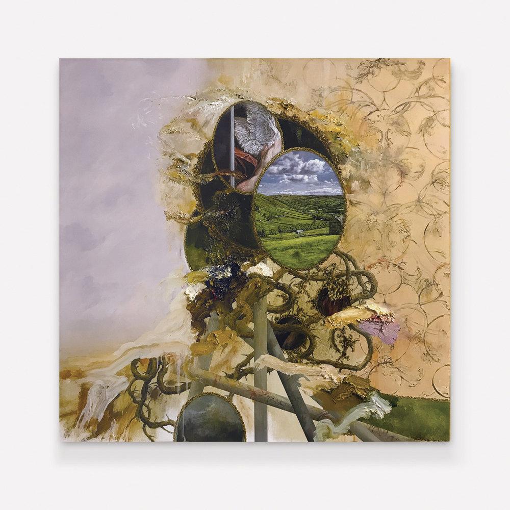 David Kim Whittaker 'The Molecular Mirror (The Landscape Bacame His Suffering, A Portal of Balance)'