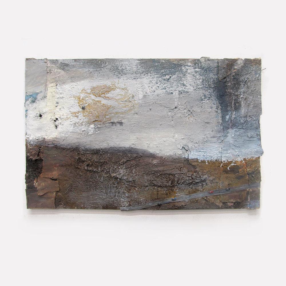 Andrew Hardwick 'Moor, White Cloud and Road'