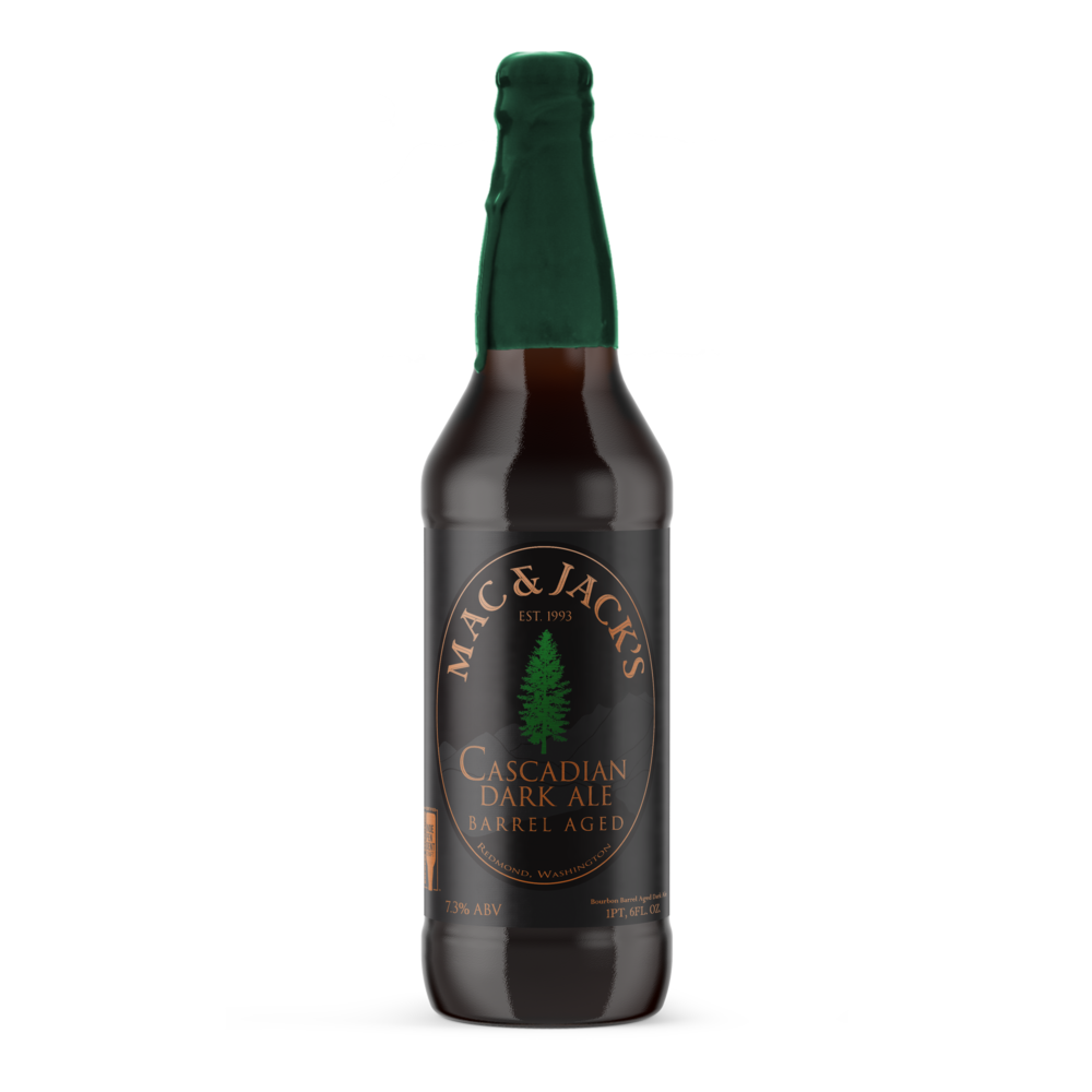 Bourbon Aged Cascadian Dark Ale (BCDA)
