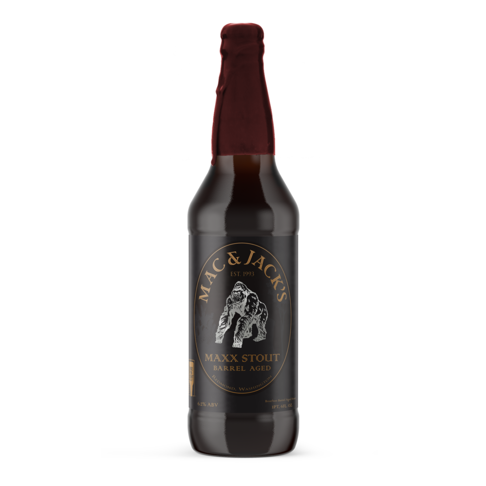 Bourbon Barrel Aged Maxx Stout
