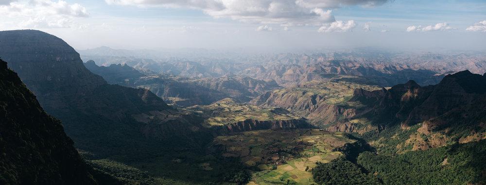 Mountain Village – Simien Mountains, Gondar