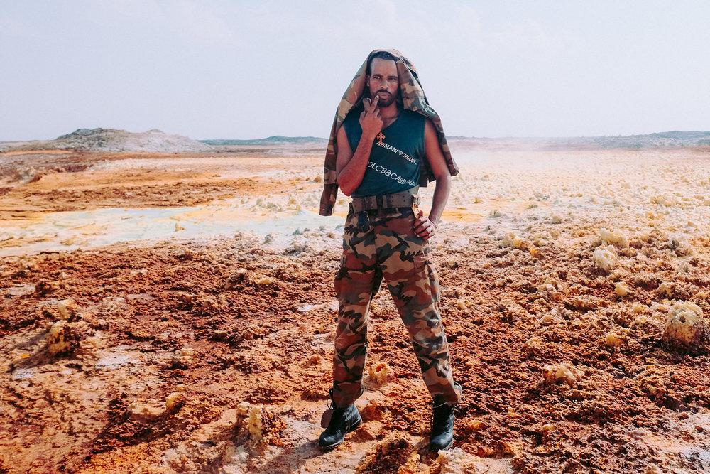Dallol, Afar Region Ethiopia