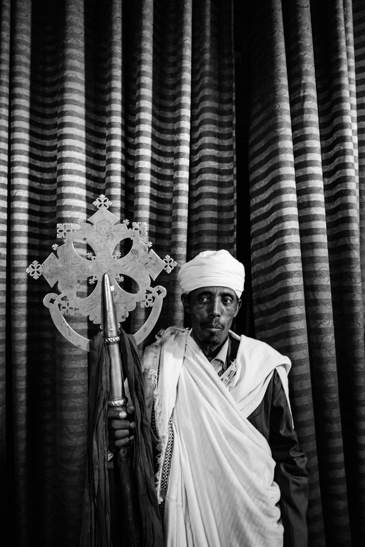 Priest - Lalibela, Amhara