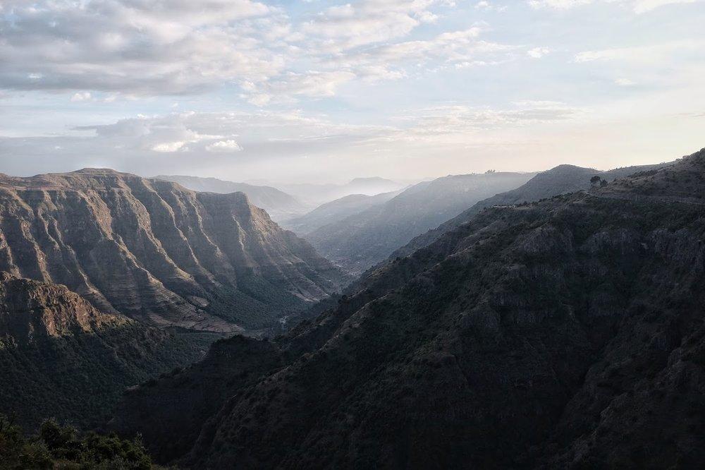 Last light – Simien Mountains, Gondar