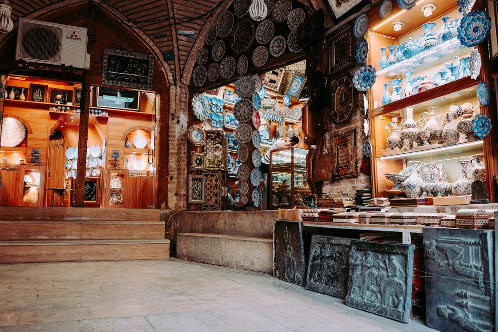 Teenage Shopkeeper –  Naqsh e Jahan Square, Esfahan