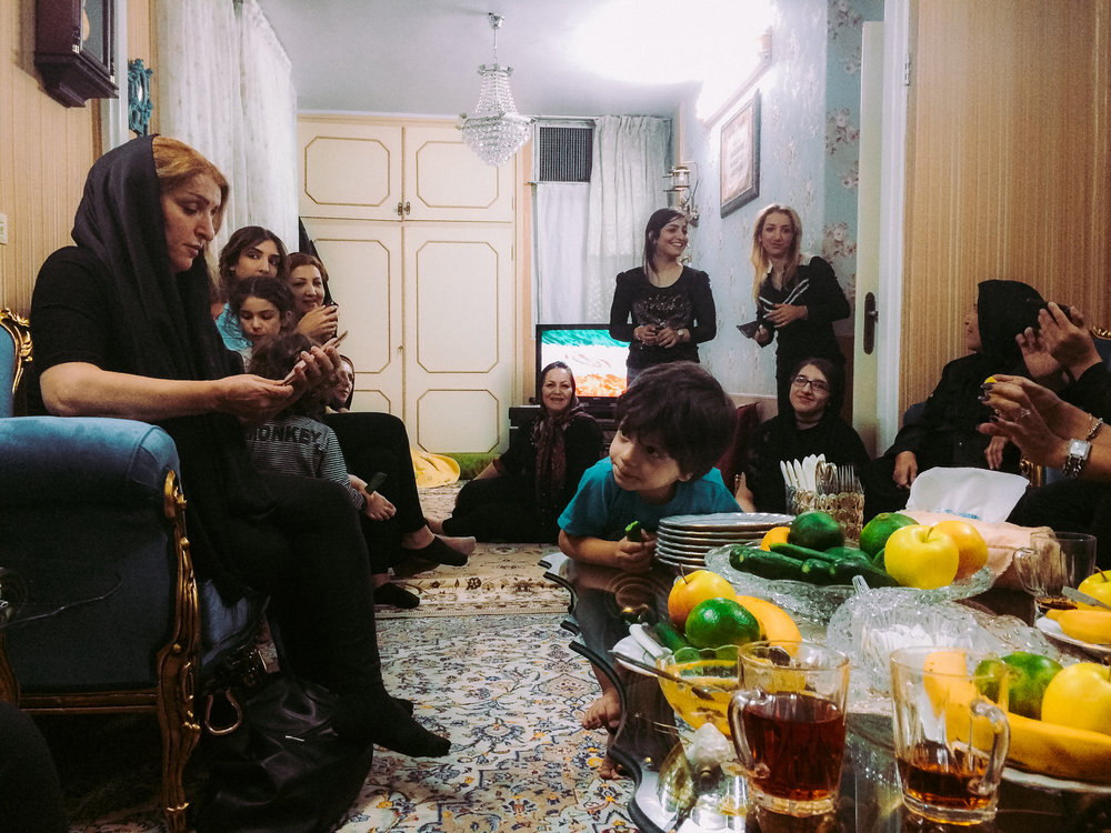 At home with 4 generations of Moosavis - Tehran