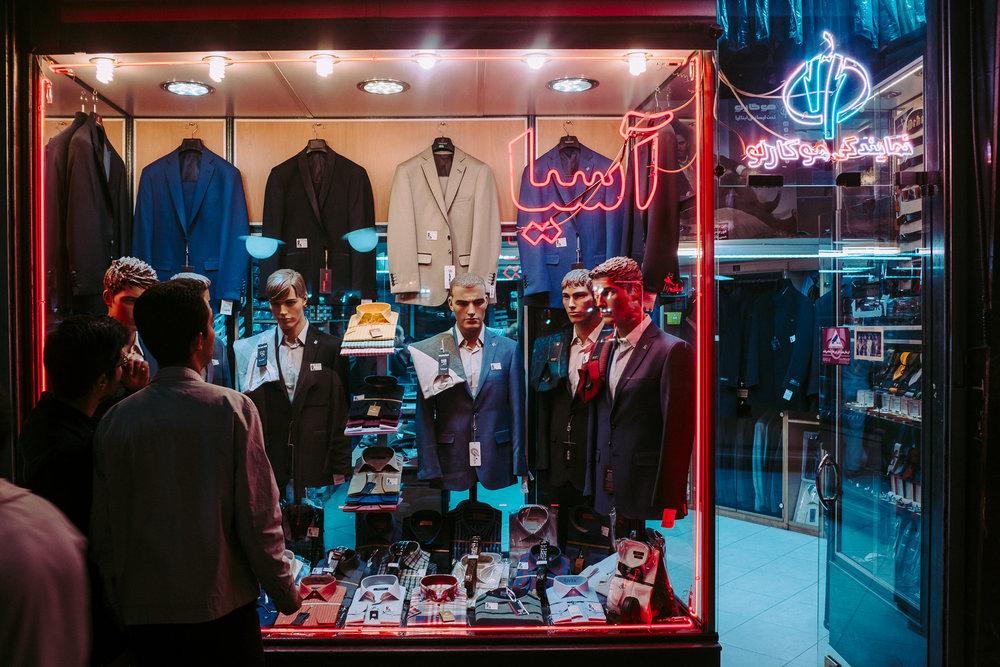 Window shopping in Tabriz - Tabriz