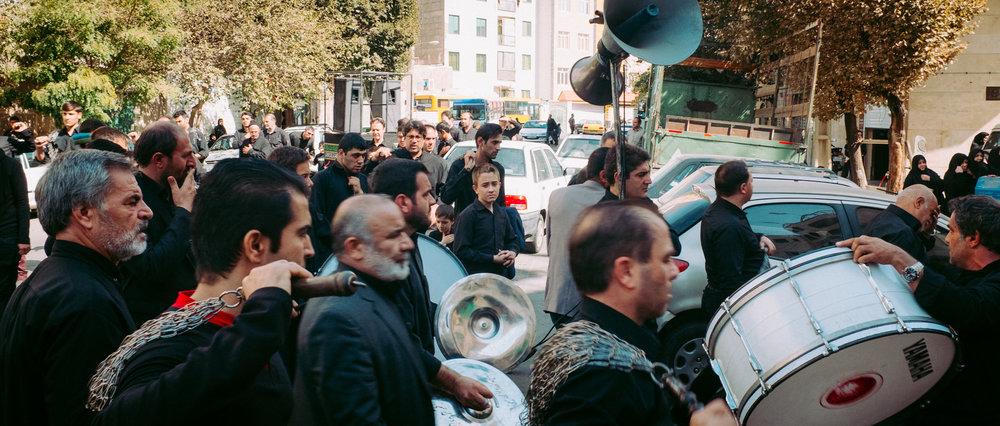 Ashura procession - Hengam street, Tehran