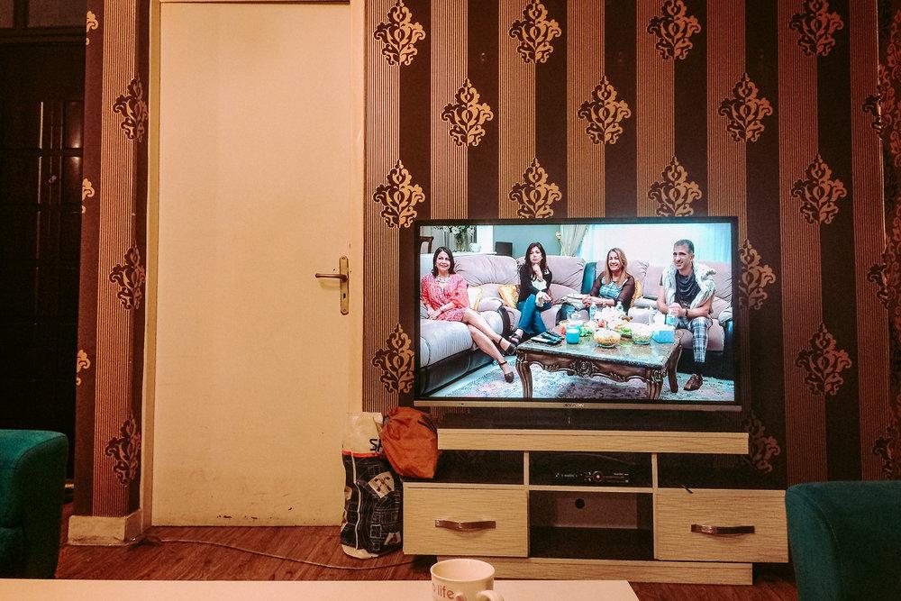 Canadian TV - Farmanieh Avenue, Tehran