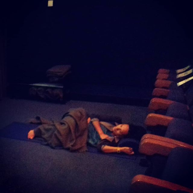 Watching Whitney at the Watershed! It's now possible to lie down there to see any film! It's a game changer # watershed # Whitney #horizontalcinema #chronicpain #invisibledisability #uncharteredcollective #msresearch #unlimited #restingrevolution #restingspaces