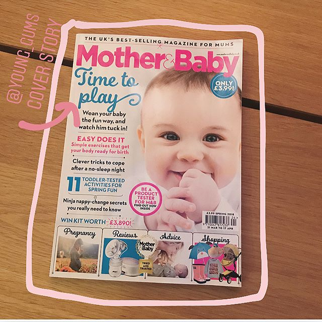 All those times I flicked through @motherandbaby mag with one hand while endlessly bf'ing a newborn + drinking a cold cup of tea, I never thought I'd see myself in there. Let alone the nine-page cover story. Check out the 'play-led weaning' (= lols not stress) concept I'm wanging on about in the Spring issue that's out this week. If you've read it pls lemme know what you think x