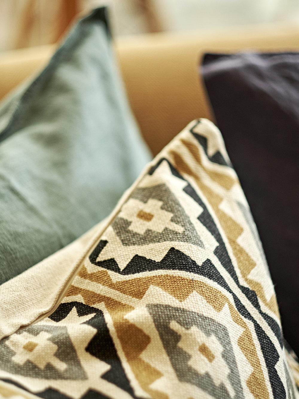 Dress Cushions Detail