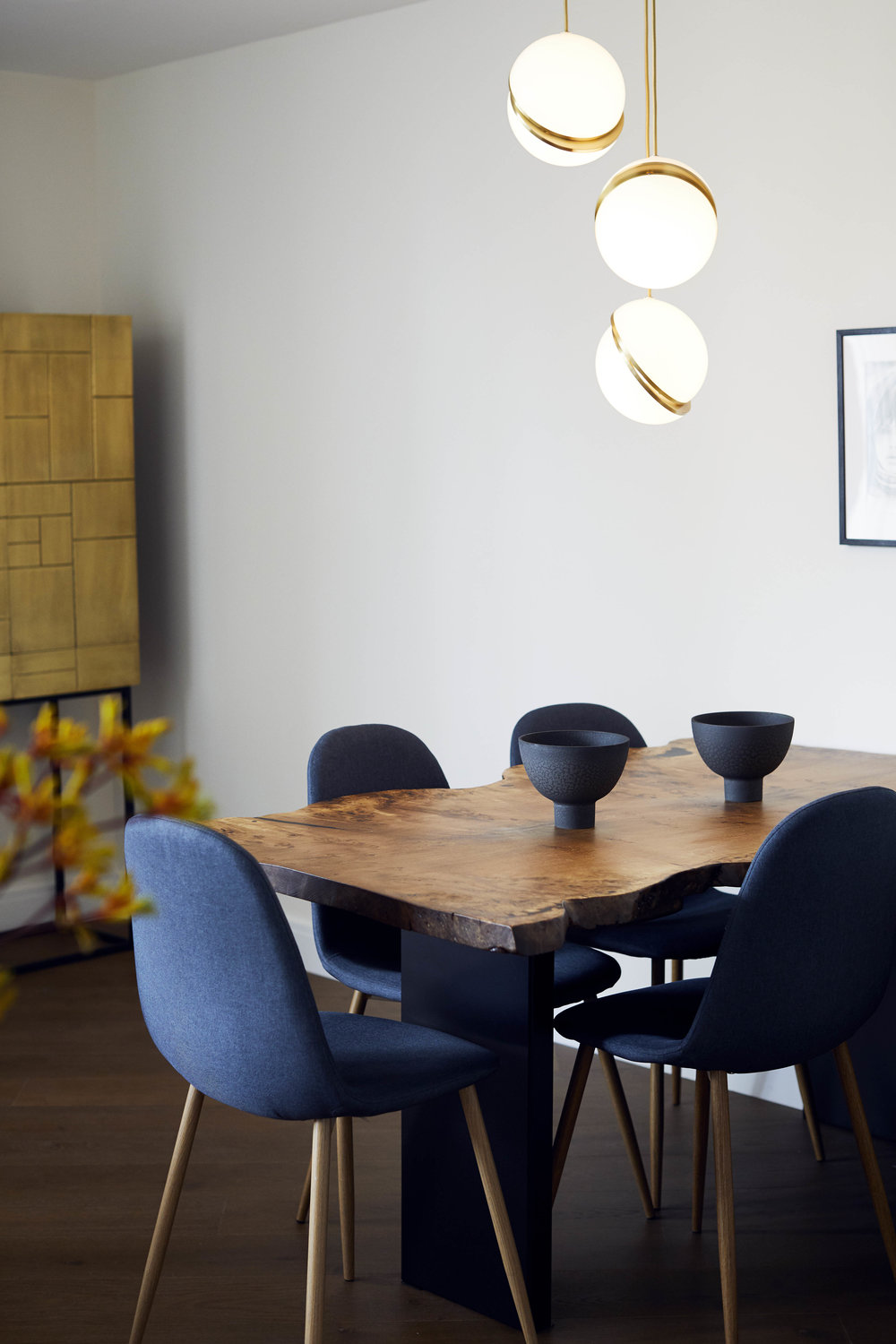 Dining Room Battersea Modern Apartment