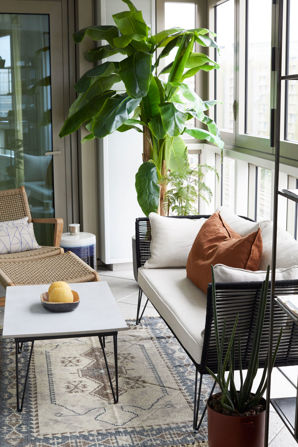 Terrace Battersea Modern Apartment