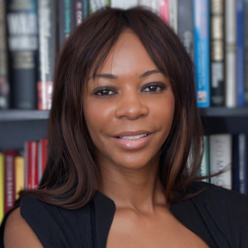 DAMBISA MOYO   Best-selling author, The Edge Of Chaos (2018)