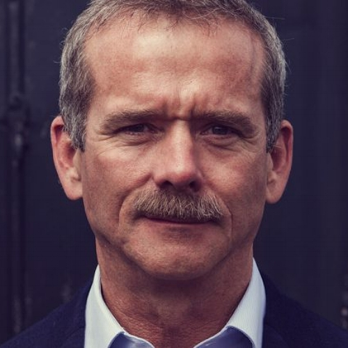 CHRIS HADFIELD - Former NASA astronaut, whose video of himself singing Space Oddity from the International Space Station went viral.