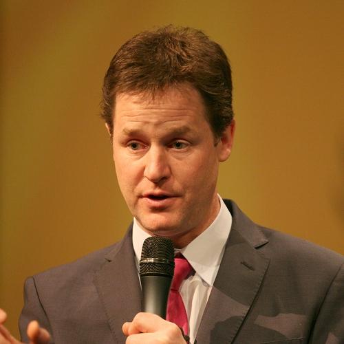 Nick Clegg keynote speaker