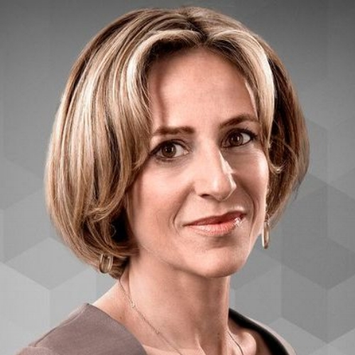 Emily Maitlis conference moderator