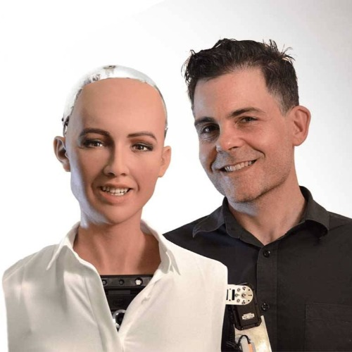 Sophia the robot Speaker