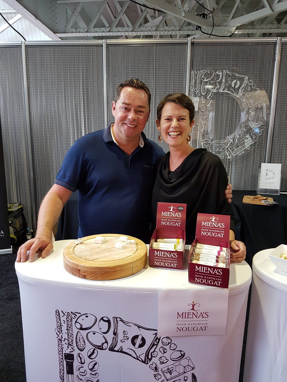 Look who popped by at the Speciality Fine Food Show in London,  in September 2017