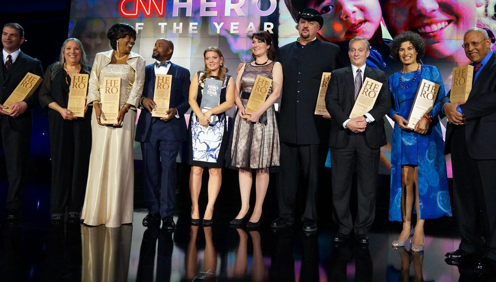 Behind The Scenes And On Their Plates At The CNN Heroes Award Show