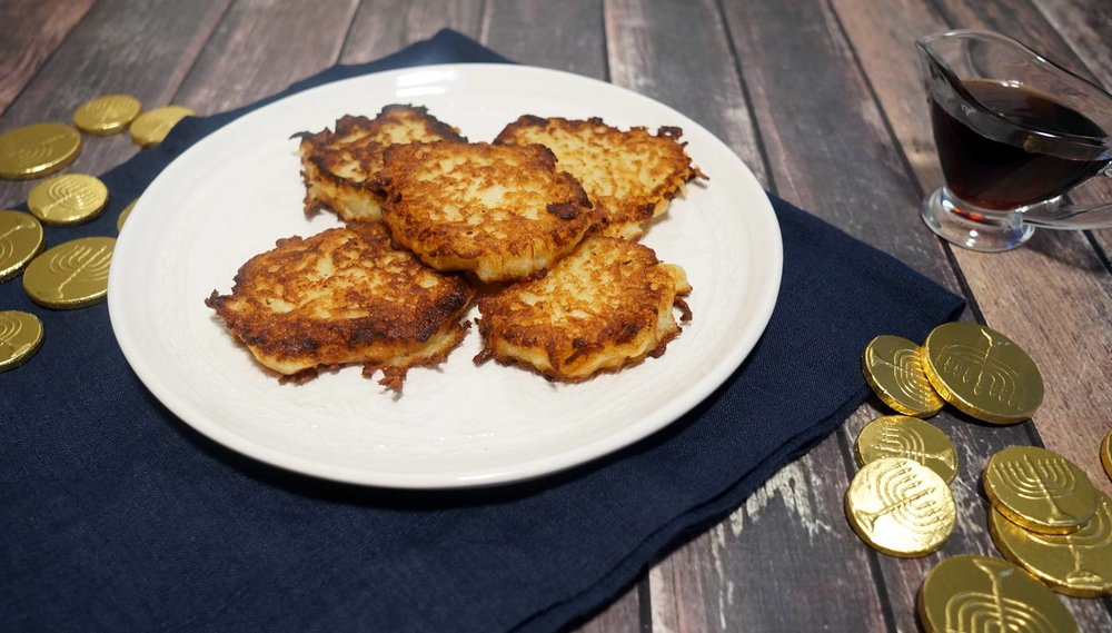 Buttermilk Maple Potato Latke