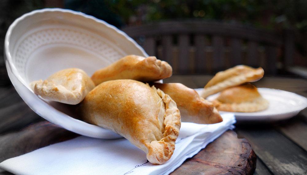 Pumpkin Chicken Empanadas