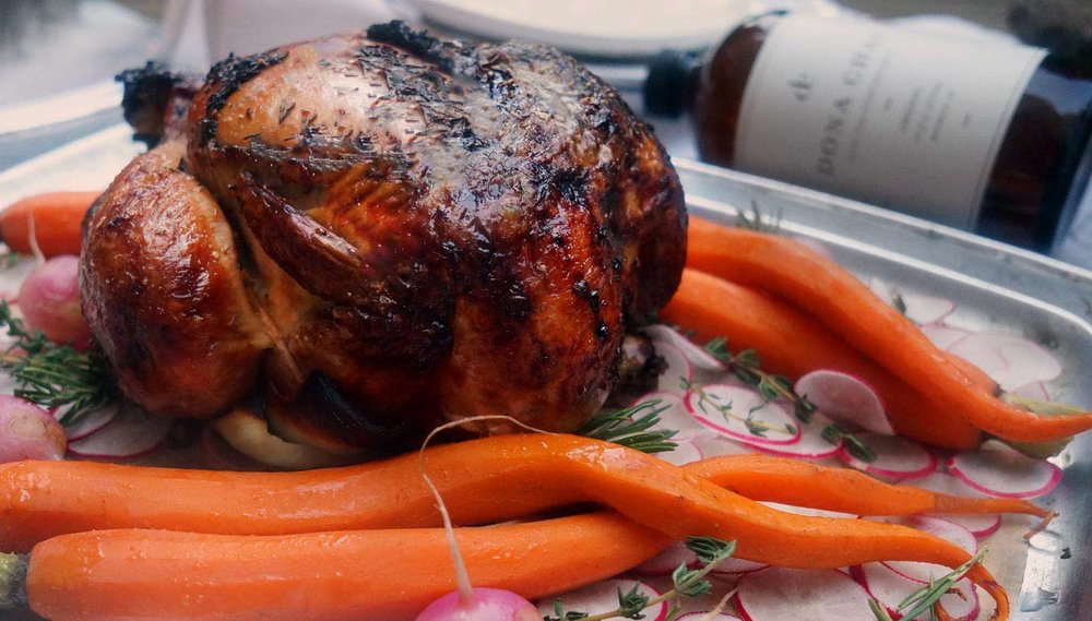 Chai Roasted Chicken
