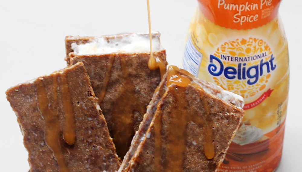 Gingersnap Pumpkin Pie Spiced Ice Cream Sandwiches