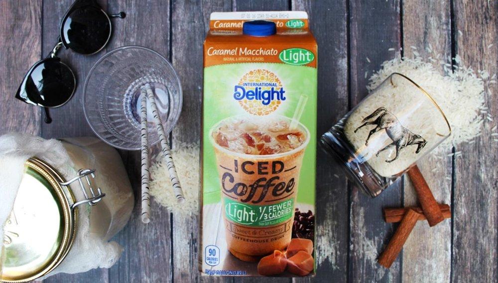 Iced Caramel Macchiato Horchata