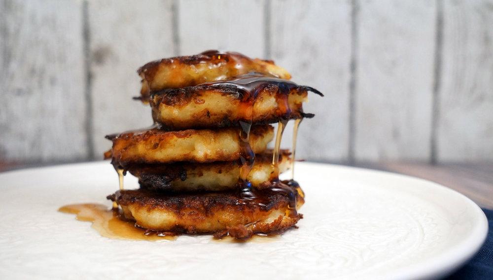 Buttermilk Maple Potato Latke